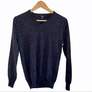 J. CREW pullover v-neck sweater XS